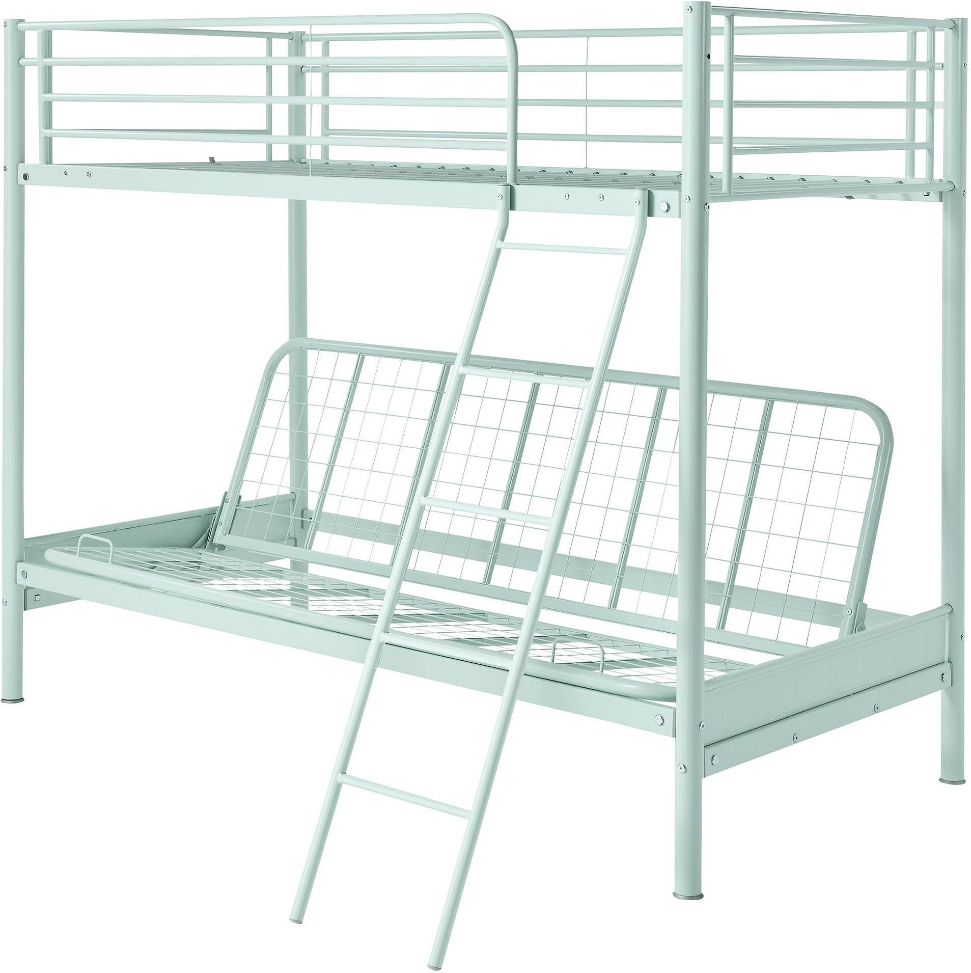 Tesco Mika Metal Frame Single Bunk Bed With Double Pull Out Futon Mint Buy Online In Isle Of Man At Isleofman Desertcart Com Productid 69562026