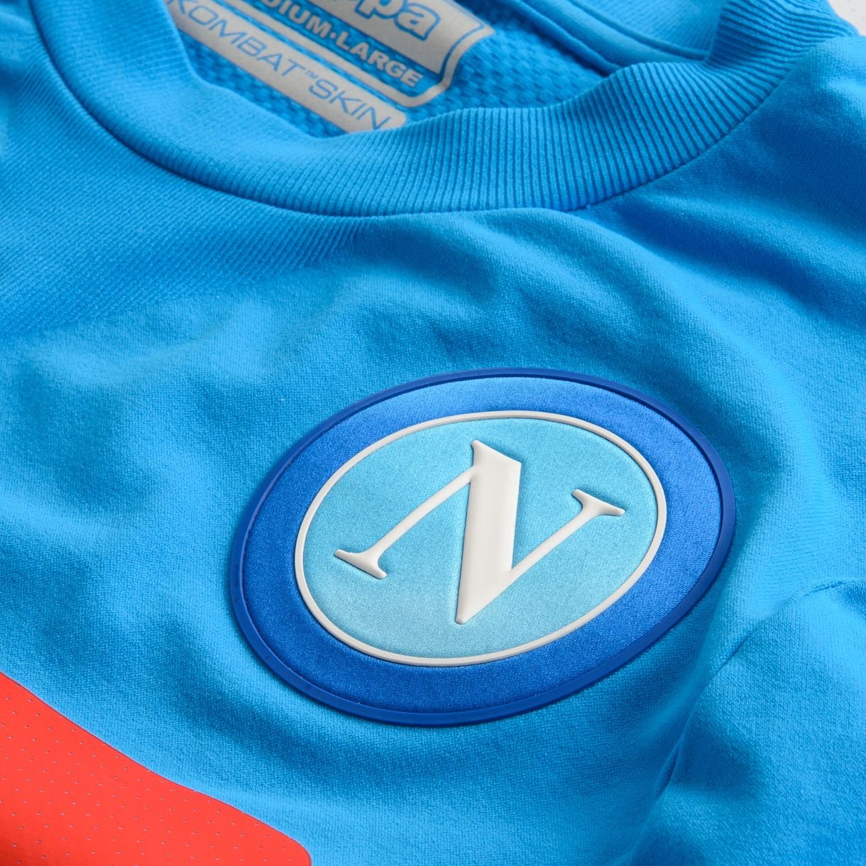 2016-2017 Napoli Kappa Authentic Home Shirt