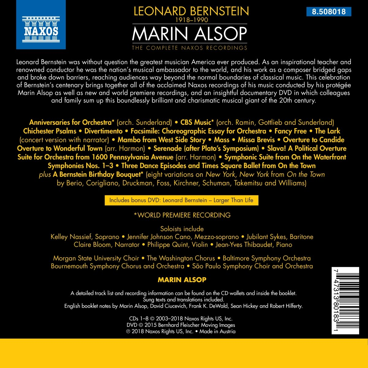 The Complete Naxos Recordings