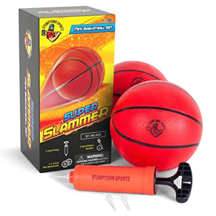 Amazon.com   Mini Basketballs for Mini Basketball Hoop - Set ... 24efe735ec