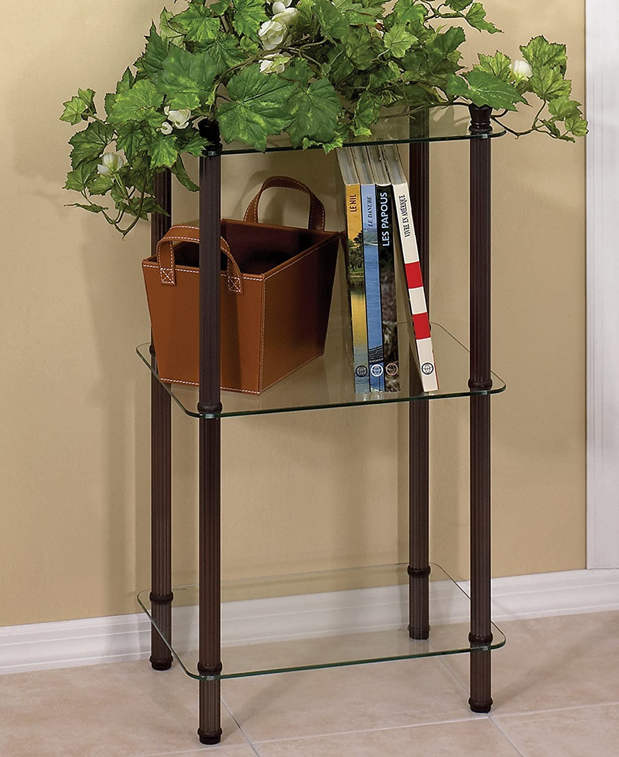 Amazon.com: Creative Bath 3 Shelf Oil Rubbed Bronze Tower L\'Etagere ...