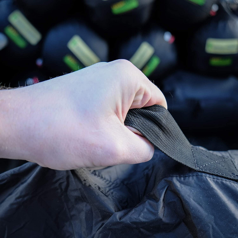 LOWLAND OUTDOOR/® Flightbag Nylon Oxford Para mochilas de hasta 85 litros Bolsa de Vuelo protegerla