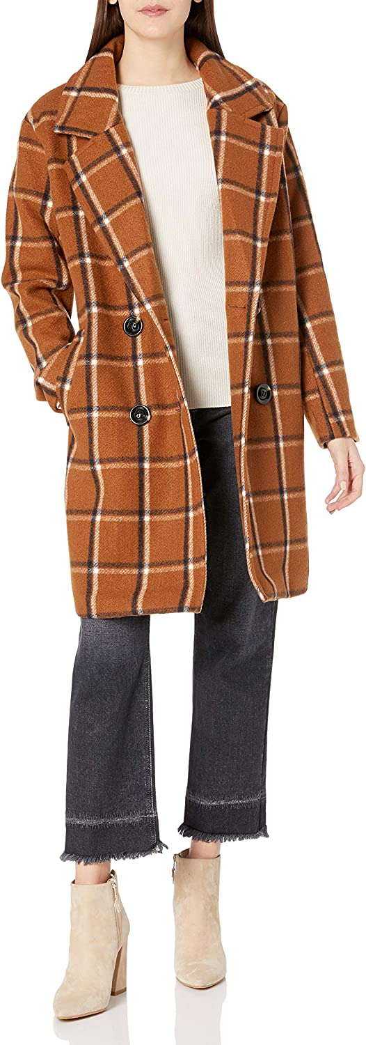 Steve Free shipping anywhere in OFFicial mail order the nation Madden Women's Wool Coat Fashion