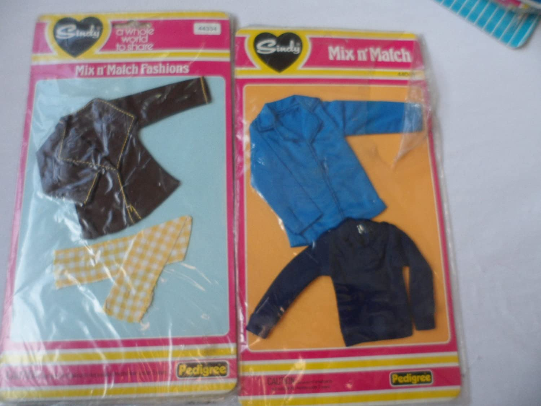 Sindy Vintage Mix N' Match Fashion 44334 & 44068 By Pedigree