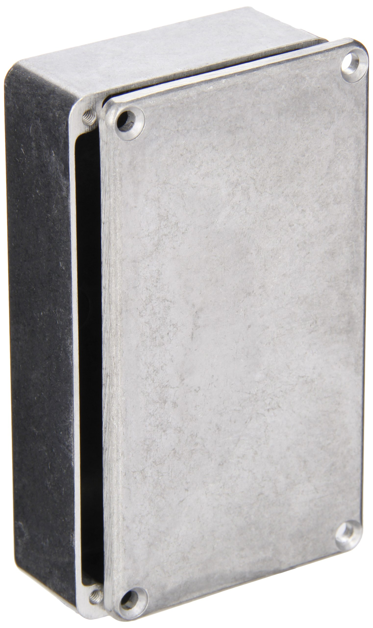 BUD Industries CN-5703 Die Cast Aluminum Enclosure, 4-1/2'' Length x 2-1/2'' Width x 1-7/32'' Height, Natural Finish