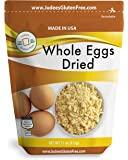 Judee's Whole Egg Powder (11 oz)(Non-GMO, Pasteurized, Made in USA, 1 Ingredient no additives, Produced from the…