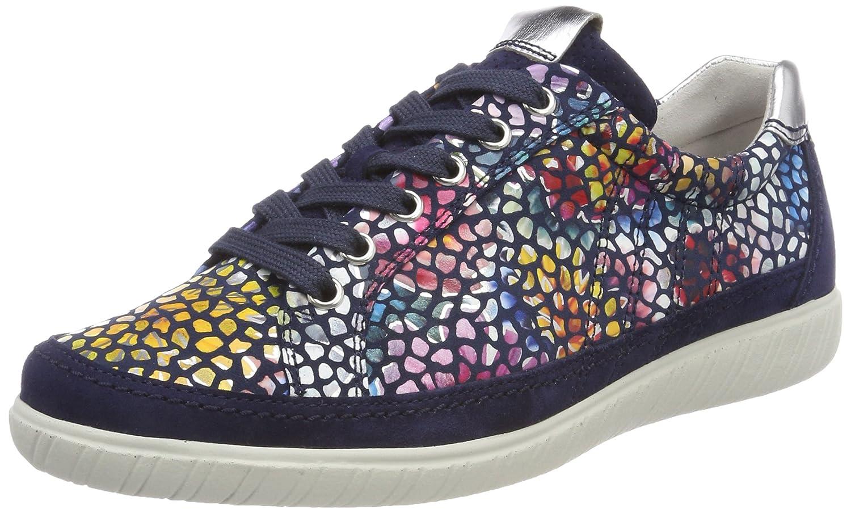 Gabor Shoes Comfort Basic, Zapatos de Cordones Derby para Mujer 35 EU|Azul (River/Blue)