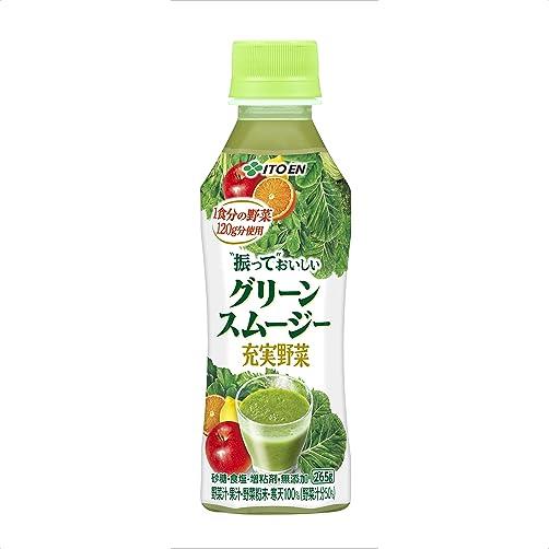 充実野菜 グリーンスムージー 265g×24本