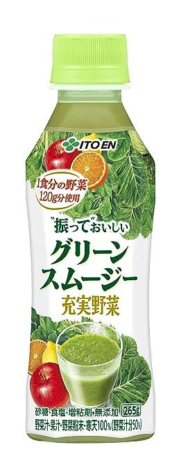 伊藤園 充実野菜 グリーンスムージー 265gペットボトル 24本