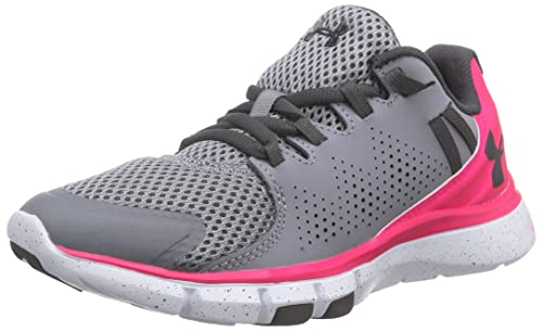 Under Armour - UA W Micro G Limitless TR, Zapatillas Deportivas para Interior Mujer, Gris (Steel), 42 EU: Amazon.es: Zapatos y complementos