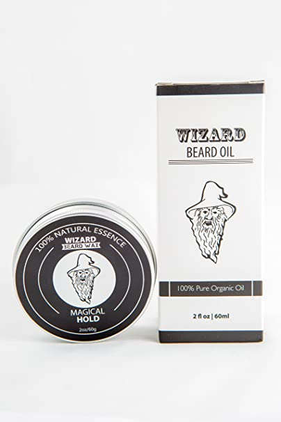 Amazon.com: Wizard Beard Grooming Care Kit - Natural Beard Wax ...