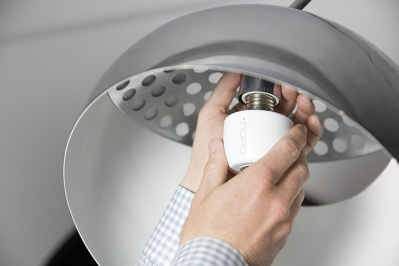 Amazon.com: Incipio CommandKit Wireless Smart Light Bulb Adapter ... for Smart Bulb Socket  110zmd
