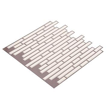 Amazon.de: Wall Crafts® 3D Mosaik Fliesensticker selbstklebend 10 ...