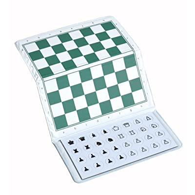 US Chess Checkbook Magnetic Travel Chess Set - by US Chess Federation: Toys & Games