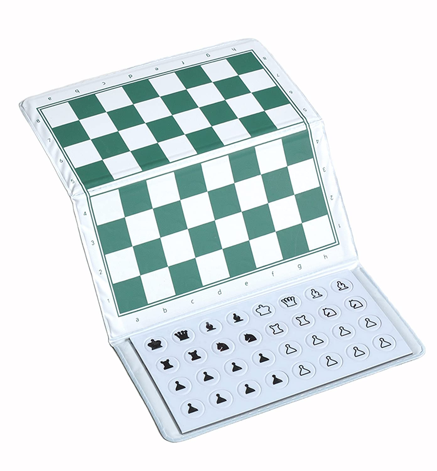 CHECKBOOK MAGNETIC Travel Chess Set The House of Staunton