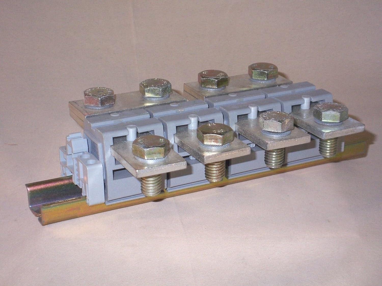 Amazon com: DIN Rail Terminal Blocks UHV 95-AS/AS