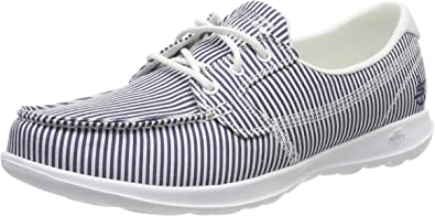 Boat Shoes, Blue Navy White NVW