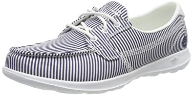 Skechers Women's Go Walk Lite Caribbean Boat Shoes