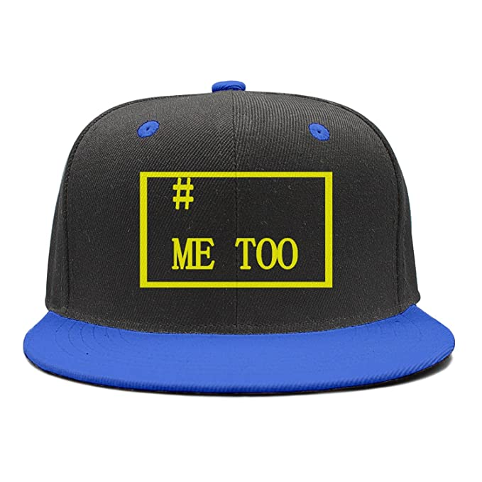 7b1261b9b17 Kijhsaa Me Too - March for Our Lives Unisex Hip Hop Adjustable Flat Brim Hats  Snapbacks