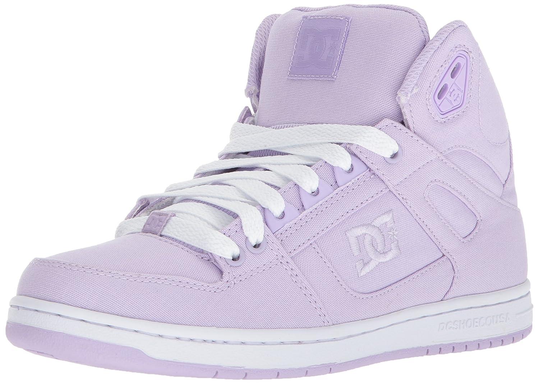 DC Women's Pure High-Top TX Skate Shoe B073223S2N 5.5 B(M) US|Lilac