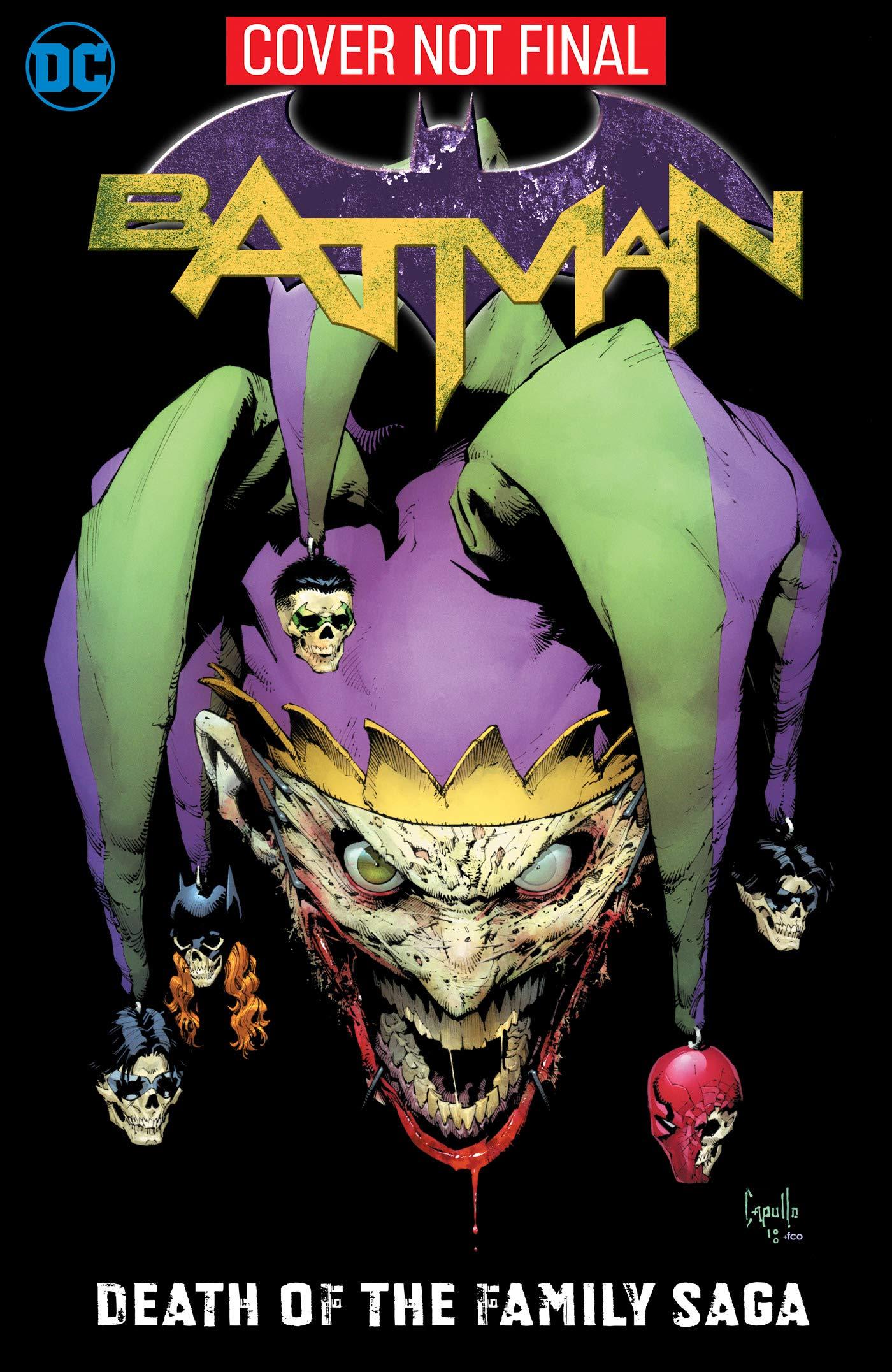 Amazon com: Batman: Death of the Family Saga (9781401290931