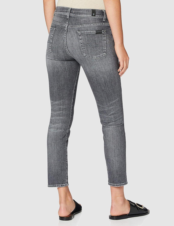 7 For All Mankind dames spijkerbroek Slim grijs