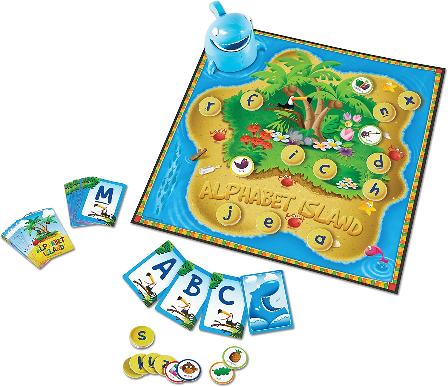 Learning Resources Alphabet Island, Letter & Sounds Game
