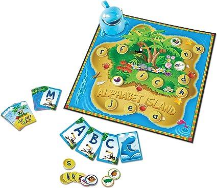 Learning Resources Alphabet Island - Juego de Cartas de reconocimiento: Amazon.es: Juguetes y juegos