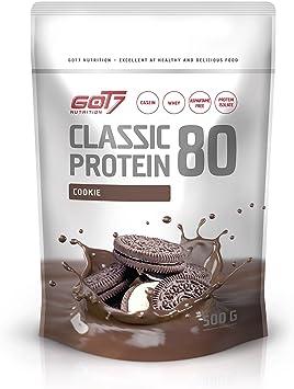 Got7 Nutrition Clásica Proteína 80 Batido, Galleta 500 g ...