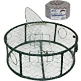 "Promar TR-830C1 30"" Stainless Steel Crab Pot with 100' Lead Line"