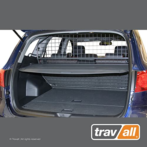 Travall Guard Compatible with Hyundai Santa Fe 2006-2012 TDG1196 – Rattle-Free Steel Vehicle Specific Pet Barrier