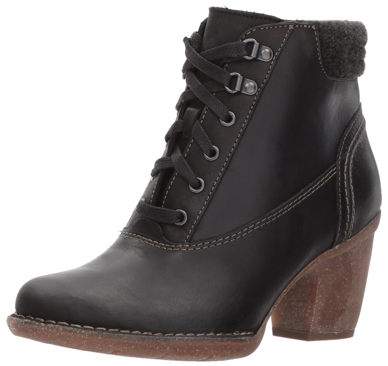CLARKS Women's Carleta Crane Ankle Bootie B01N4GBIOY 6.5 B(M) US|Black