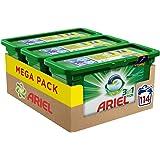 Ariel 3en1 Pods Ecodoses Original Lessive en Capsules 114 Lavages
