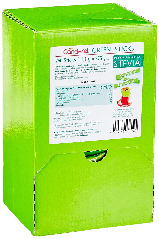 HELLMA 60115072 Süßstoff Stevia Canderel grün: Amazon.de: Bürobedarf ...