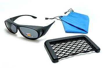 DESGASTE POLARIZADO SOBRE GAFAS DE GAFAS Gafas de sol sobre gafas graduadas: Amazon.es: Deportes y aire libre