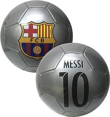 FCB Messi Firma balón de fútbol, tamaño # 5, FC Barcelona Messi ...