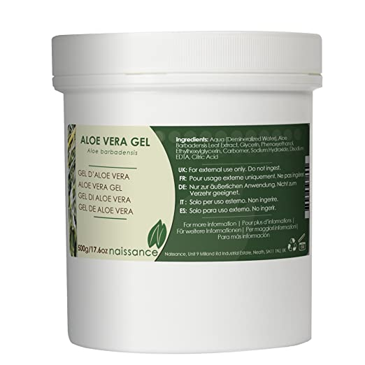 97 opinioni per Naissance Gel di Aloe Vera- 500g