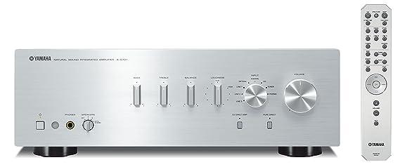 Yamaha A-S701 - Amplificador integrado estéreo de 160 W por canal, color plateado: Amazon.es: Electrónica
