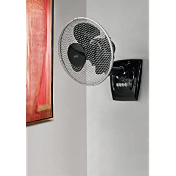 Manche Ventilatoren können Sie sogar an der Wand befestigen.
