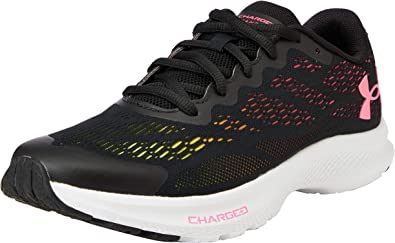 Under Armour Grade School Charged Bandit 6, Zapatillas para Correr de Carretera para Niñas, Cereza Blanco Negro 001, 39.5 EU: Amazon.es: Zapatos y complementos