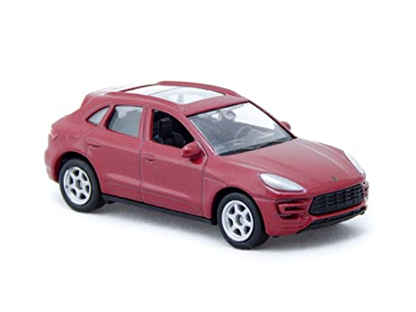 Porsche Macan Turbo Red 1:60 Welly