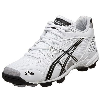 ASICS Men's GEL-V Cut MT Field Shoe,White/Black/Silver,