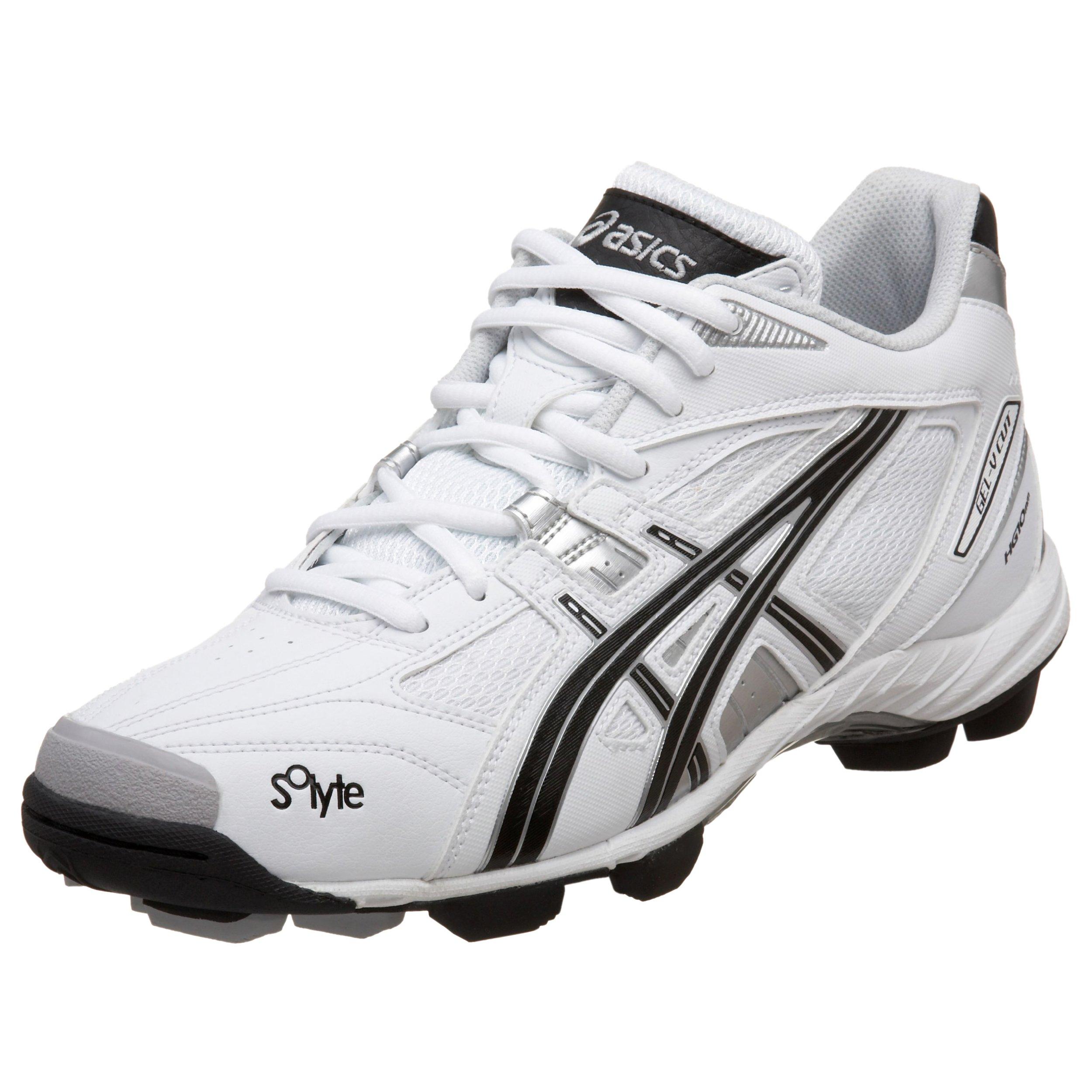 ASICS Men's GEL-V Cut MT Field Shoe,White/Black/Silver,8.5 D US by ASICS