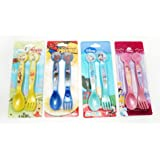 Disney Cutlery Set - Spiderman, Winnie the Pooh, Mickey Mouse, Princess