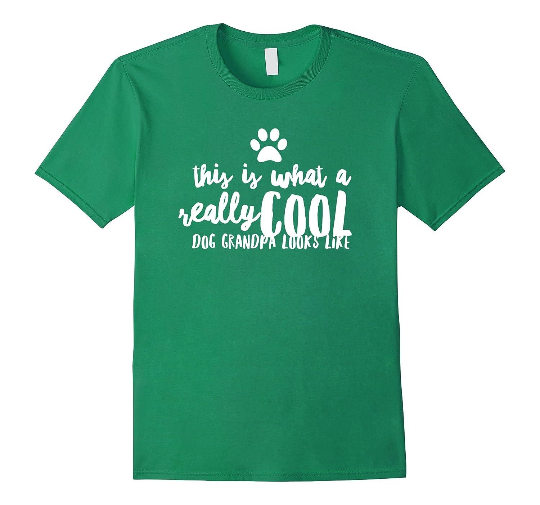 Mens I Love My Granddog T Shirt Cool Dog Grandpa Anz Anztshirt