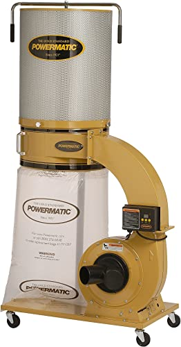Powermatic PM1300 1791077CK 1-3 4 HP Dust Collector with Canister Kit