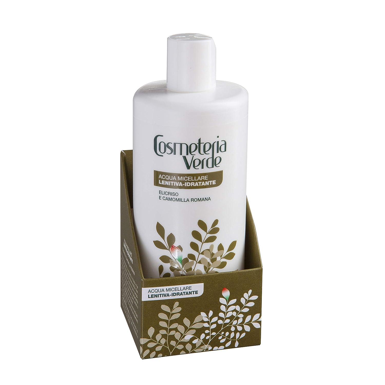 Agua Micelar Calmante-hidratante Cosmeteria Verde - Es una solución detergente que empareja el maximo de la delicadez con una optima capacidad hidratante y calmante. Valetudo Srl