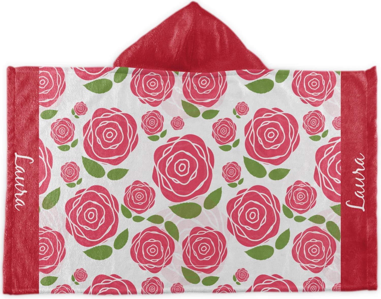 Rosesフード付きタオル( Personalized )   B077657QHL
