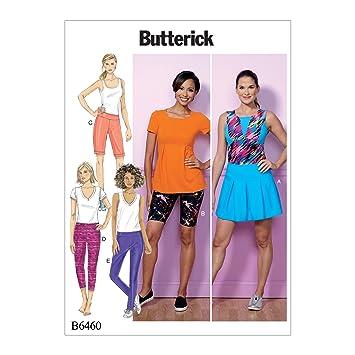 Butterick Patterns Butterick Schnittmuster 6460 ZZ, Skort, Shorts ...