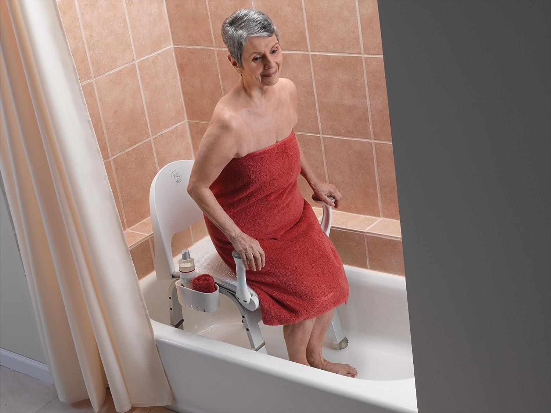 Amazon.com: Moen DN7100 Shower Chair, Glacier: Home Improvement